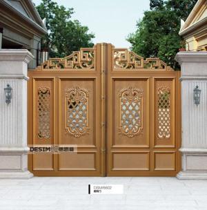 安全铝艺庭院门